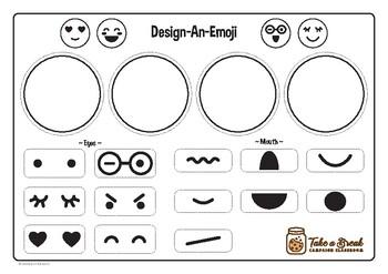 NEW! Design-An-Emoji (Fine Motor Skills)