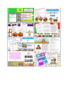 NEW Digital Curriculum Year Long Package Plus Freebies and Free Updates