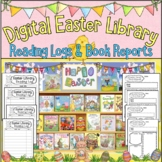 NEW! Digital Easter Library with Reading Logs & Book Repor