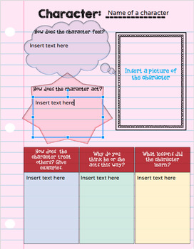 NEW Digital Interactive Notebook for Any Novel Study MIDDLE SCHOOL VERSION