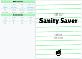 NEW! Digital Sanity Saver in Thin (Line) Mint