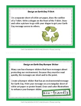 EARTH DAY ACTIVITIES • GRADES 4– 6