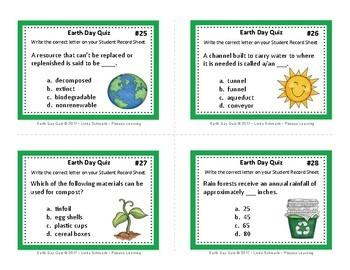 EARTH DAY QUIZ • GRADES 4–6