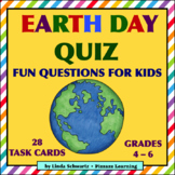 EARTH DAY QUIZ • GRADES 4–6