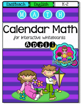 EASITEACH Calendar Math- April (English)