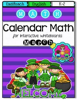 EASITEACH Calendar Math- March (English)