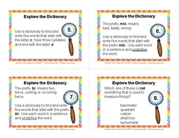 EXPLORE THE DICTIONARY • GRADES 9–12