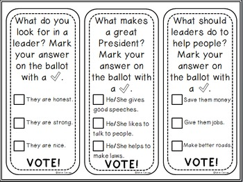 NEW Election Day Activity Pack!