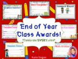 NEW: 40+ End of Year Class Awards!