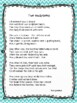 NEW  End of Year Poem and Handprint Gift for Parents