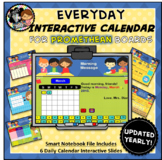 Everyday Interactive Calendar for PROMETHEAN Board PK, K, 1st