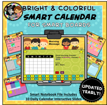 Everyday Interactive Calendar & Organizer for SMART Board