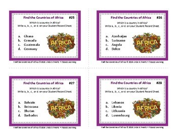 FIND THE COUNTRIES BUNDLE •  GRADES 6–9