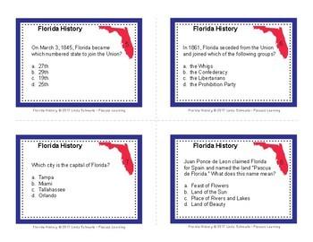 FLORIDA HISTORY QUIZ TASK CARDS • GRADES 4–6