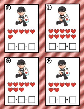 NEW FOR 2018! Stealing Hearts - A Subtraction Game