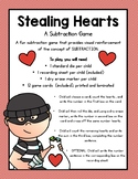 Stealing Hearts - A Valentine Subtraction Game