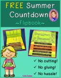 NEW FREE Countdown to Summer DOUBLE-SIDED Flipbook!