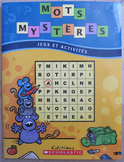 NEW FRENCH WORD SEARCH MOTS MYSTERES jeux activités Vo 1 Rentrée Back to School