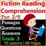 NEW Fiction Reading Comprehension Passages & Questions | Part 2/6 | Grade 3