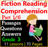 Fiction Comprehension Passages & Questions | Part 1/6 | Grade 3
