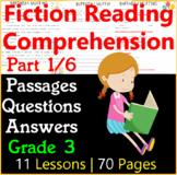 Fiction Comprehension Passages & Questions   Part 1/6   Grade 3
