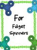 NEW  Fidget Spinners Persuasive Letters and Debate Activity FUN WRITING ACTIVITY