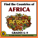NEW! Find the Countries of Africa • GRADES 6–9