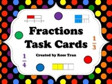 NEW  Fractions Task Cards (TEKS 3.3A - 3.3H & CC 3.NF.A.1