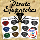 Free! Pirate Eyepatches Printable Activity for Pirate Unit