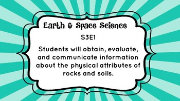 NEW** GA Standards of Excellence Science Standards for 3rd grade!