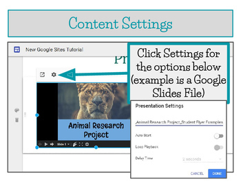 NEW Google Sites Tutorial, Student E-portfolios, Student Websites - Editable!