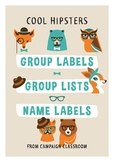 Group Labels – Cool Hipsters