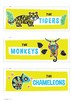 Group Labels – Tropical Animals