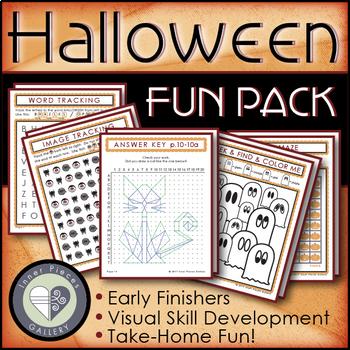 Halloween Activity Fun Pack