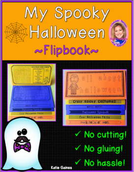 NEW Halloween DOUBLE-SIDED Flipbook!