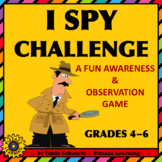 I SPY CHALLENGE  • GRADES 4–6