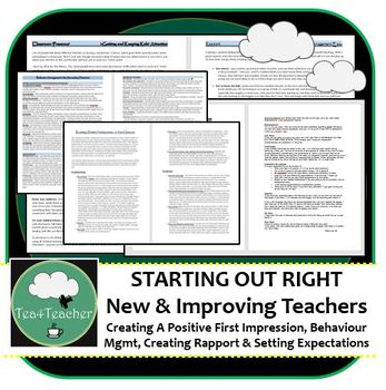 NEW + IMPROVING TEACHERS - Behaviour Management, Rapport & Class Expectations