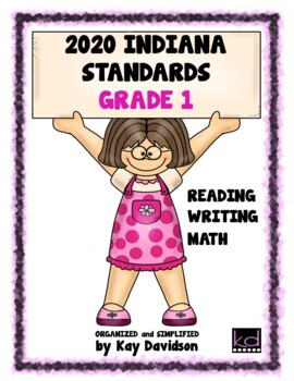 NEW Indiana Standards: Simplified for First Grade Math and ELA