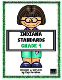 NEW Indiana Standards: Simplified for Fourth Grade Math and ELA