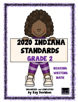 NEW Indiana Standards: Simplified for Second Grade Math and ELA
