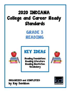 NEW Indiana Standards: Simplified for Third Grade Math and ELA