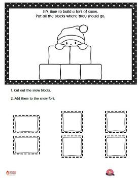Winter Interactive Reader - Snow Day Fun