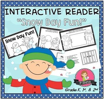 NEW! Interactive Reader - Snow Day Fun
