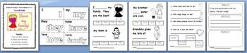 Interactive Sight Word Reader Kit 3 - I Love My Family