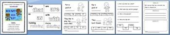 NEW! ** Interactive Sight Word Reader Kit 5 - Run Pat Run Kip