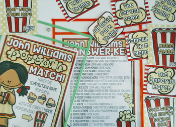 John Williams Popcorn Party!  February, Winter, Music, Film, Soundtrack