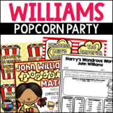 MUSIC CENTERS - John Williams Popcorn Party Listening Activities, February