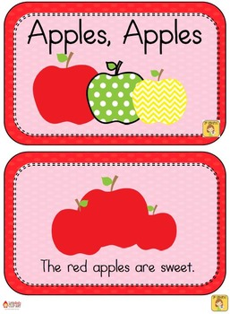 Kindergarten Theme - Apples