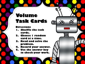 NEW  Let's Build! Volume Task Cards