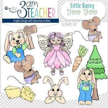 NEW! Little Bunny Foo Foo Clip Art Set!!